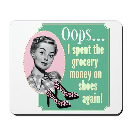 Oops! Shoes! Mousepad