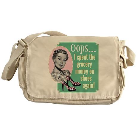 Oops! Shoes! Messenger Bag