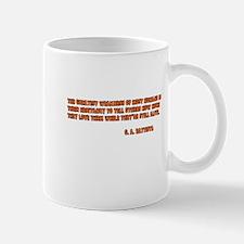 Human Weakness Mug