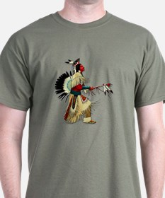 Native American Warrior #5 T-Shirt