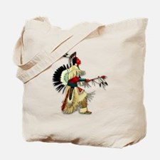 Native American Warrior #5 Tote Bag