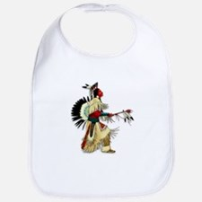 Native American Warrior #5 Bib