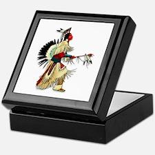 Native American Warrior #5 Keepsake Box
