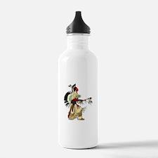 Native American Warrior #5 Water Bottle