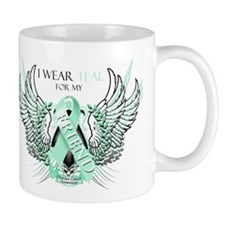I Wear Teal for my Friend Mug