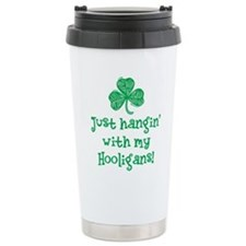 Hangin with my Hooligans - Travel Mug