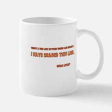 Erase the Line Mug