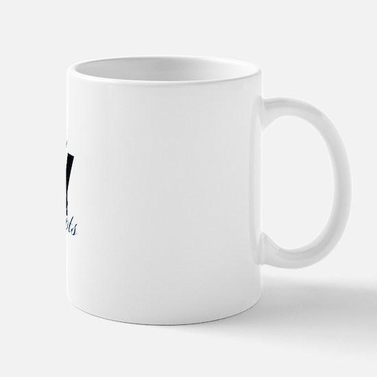 Daughter Law Combat Boots - NAVY Mug
