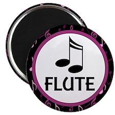 Flute Musical Notes Magnet