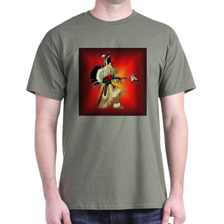 Native American Warrior #6 Dark T-Shirt