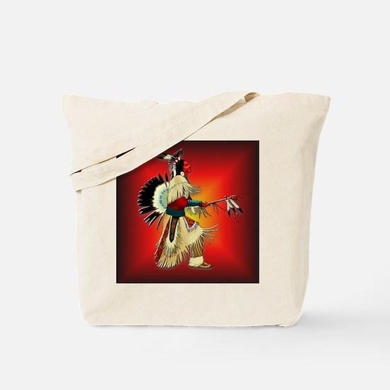 Native American Warrior #6 Tote Bag