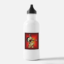 Native American Warrior #6 Water Bottle