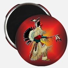 "Native American Warrior #6 2.25"" Magnet (10 pack)"