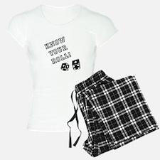 Know Your Roll! Pajamas