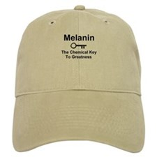 Melanin the Chemical Key to Greatness Baseball Baseball Cap