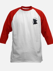 Black Pug IAAM Pocket Kids Baseball Jersey