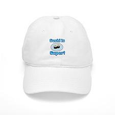 Sushi is Super 2 Baseball Baseball Cap
