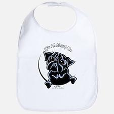 Black Pug IAAM Bib