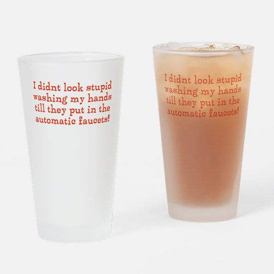 Hand Washing Humor Drinking Glass