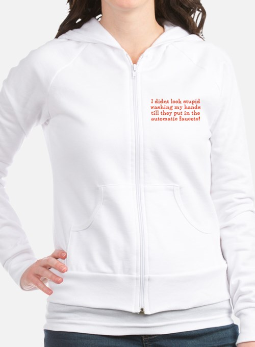 Hand Washing Humor Fitted Hoodie