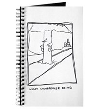 Woody Woodpecker Skiing Journal