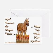 Golden Palomino Greeting Cards (Pk of 10)