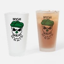 Funny Southie Drinking Glass
