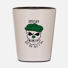Cute Irish pride Shot Glass
