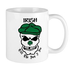 IRISH Till The Day I Die (black/green) T-Shirt Mug