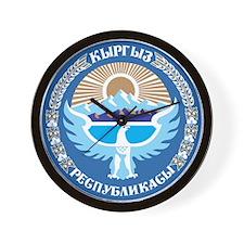 Kyrgystan Emblem Wall Clock