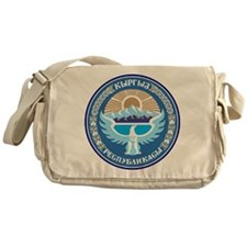 Kyrgystan Emblem Messenger Bag