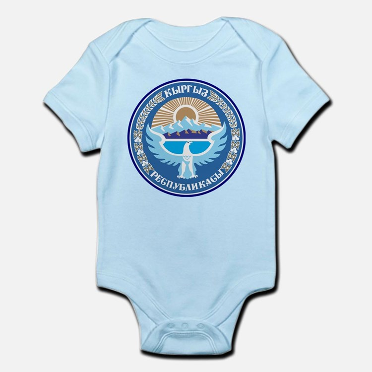 Kyrgystan Emblem Infant Bodysuit