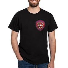 Texas Trooper Black T-Shirt