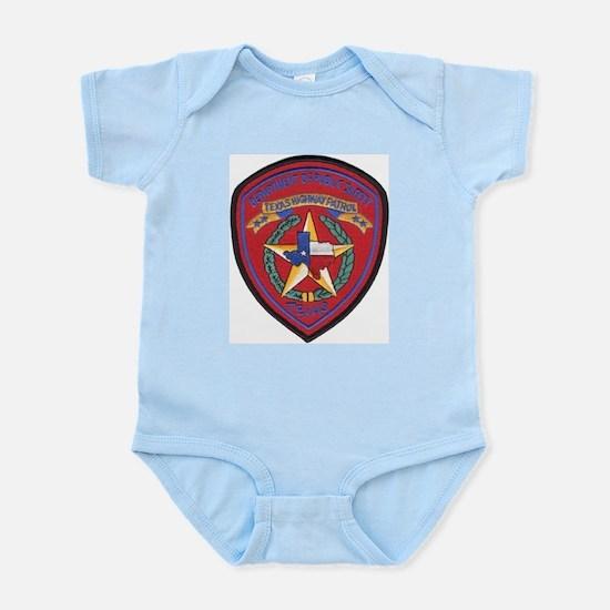 Texas Trooper Infant Creeper