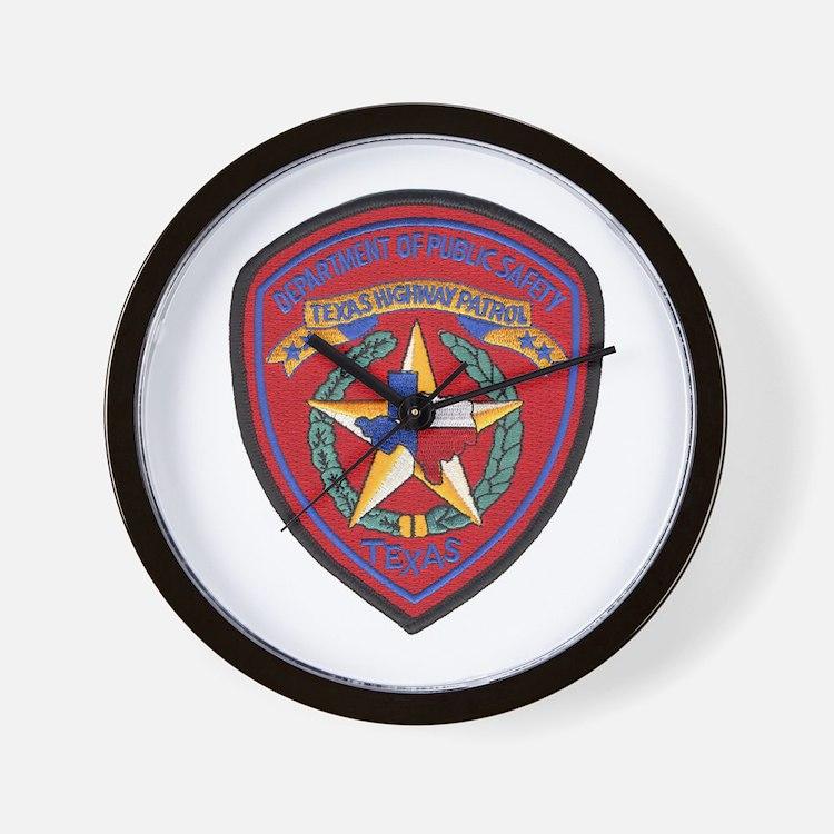 Texas Trooper Wall Clock