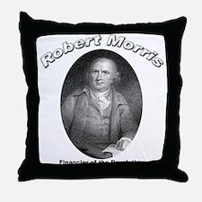 Robert Morris 01 Throw Pillow