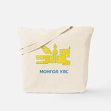 Mongolia emblem Tote Bag