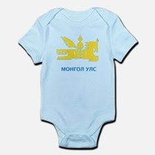Mongolia emblem Infant Bodysuit