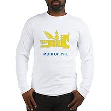 Mongolia emblem Long Sleeve T-Shirt
