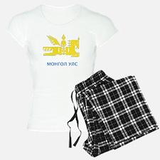 Mongolia emblem Pajamas