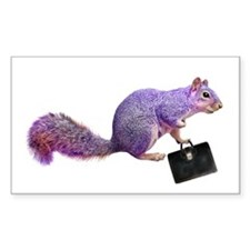 Purple Squirrel Decal