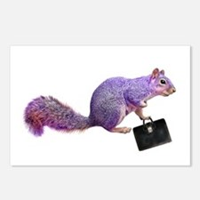 Purple Squirrel Postcards (Package of 8)