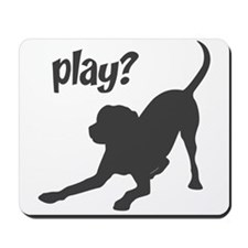 play? Labrador Mousepad