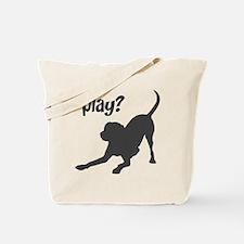 play? Labrador Tote Bag