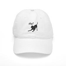 play? Labrador Baseball Cap