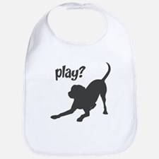play? Labrador Bib