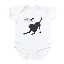 play? Labrador Infant Bodysuit