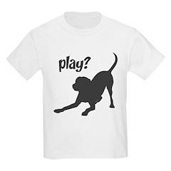 play? Labrador T-Shirt