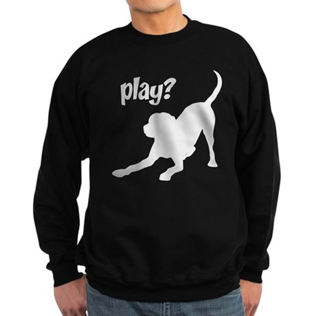 play? Labrador Sweatshirt (dark)