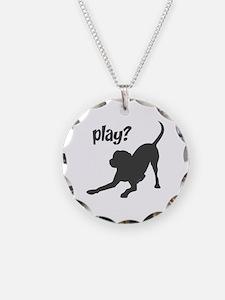 play? Labrador Necklace